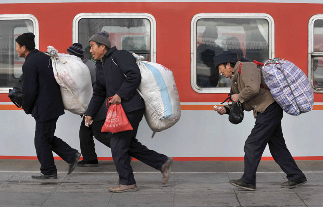 Migrants Now Account for One Sixth of Population