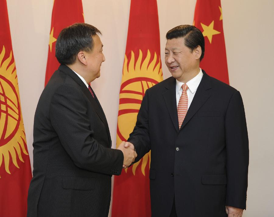 Xi Boosting China's Influence in Central Asia