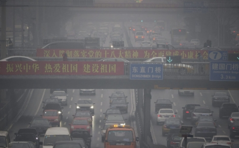 Quarter of Beijing's Air Pollution from Elsewhere