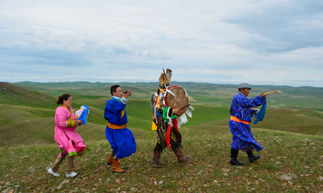 A Mongolian Shaman in Atheist China