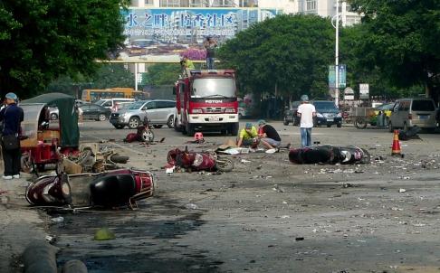 Guilin School Blast Linked to Migrant Worker