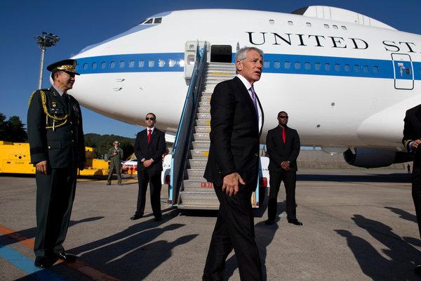 From Korea, Hagel Underlines U.S. 'Pivot' to Asia