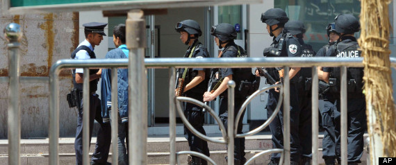 Five Police Reportedly Killed in Xinjiang Knife Attack