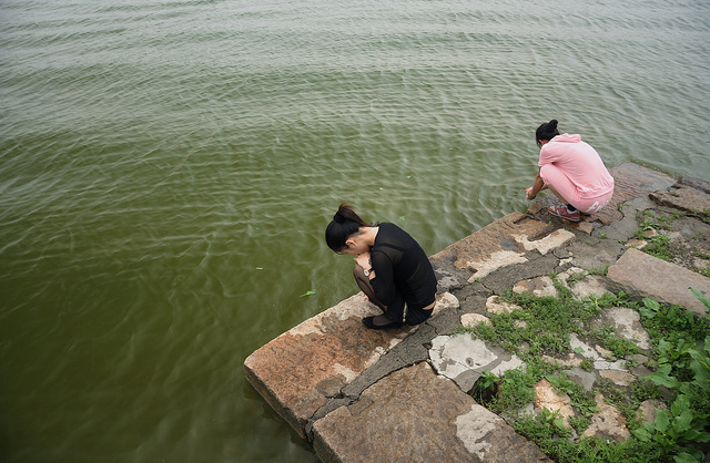 Playing with water, Yuanmingyuan