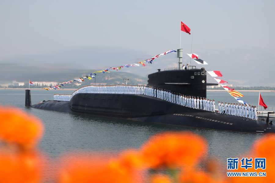 State Media Highlights China's Naval Prowess