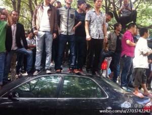 """""""Mass petitioning"""" in Yuyao."""
