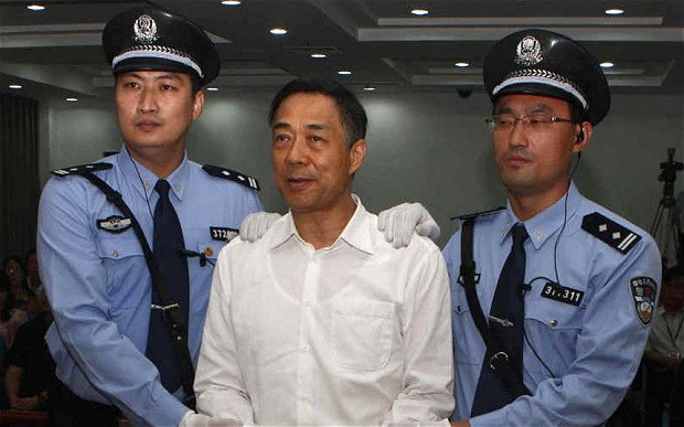 In the Courtroom, Eye-to-Eye With Bo Xilai