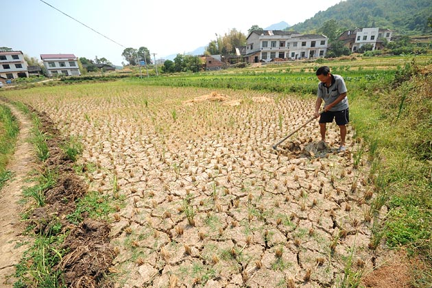 How Resource Scarcity Constrains China