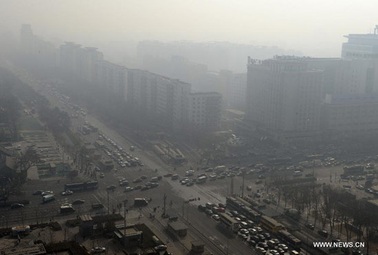 China To Give Rewards for Curbing Air Pollution