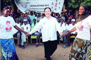 Chinese Candidate Blazes Election Trail in Mali