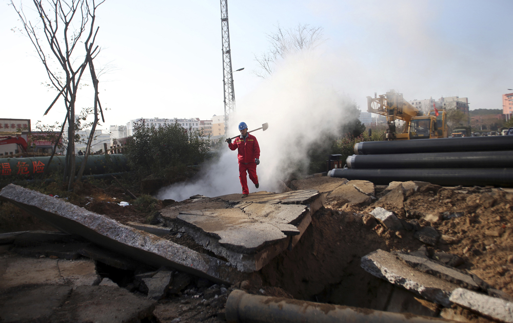 Nine Detained as Qingdao Pipeline Death Toll Rises