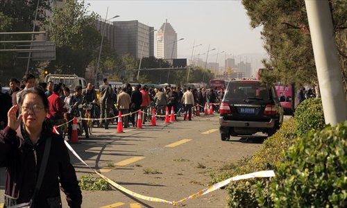 Suspect Held Over Taiyuan Bombings