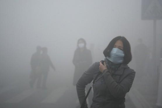 Heavy Smog Blankets Eastern China