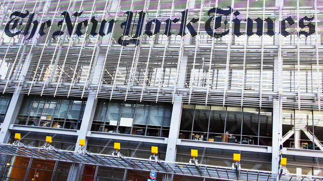 Chen Guangbiao Looks to Buy NY Times Co.