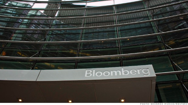 Double Blow for Bloomberg News in China