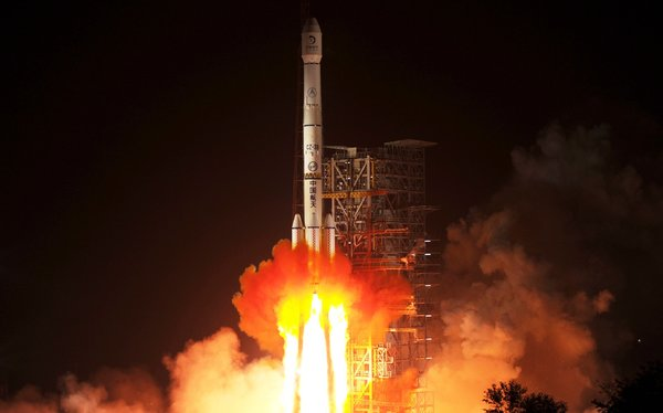 China Launches Moon Rover Mission