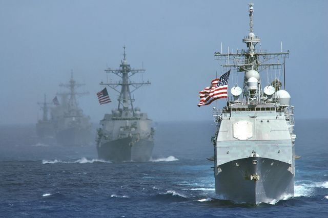Chinese, U.S. Warships in Near Collision (Updated)