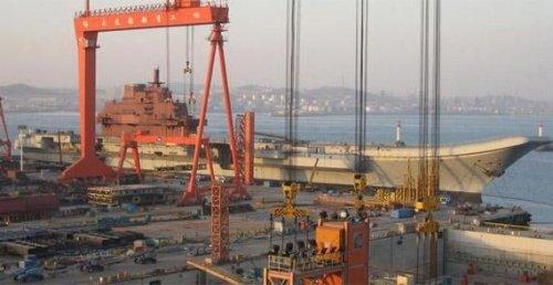 Minitrue: Aircraft Carrier Under Way in Dalian