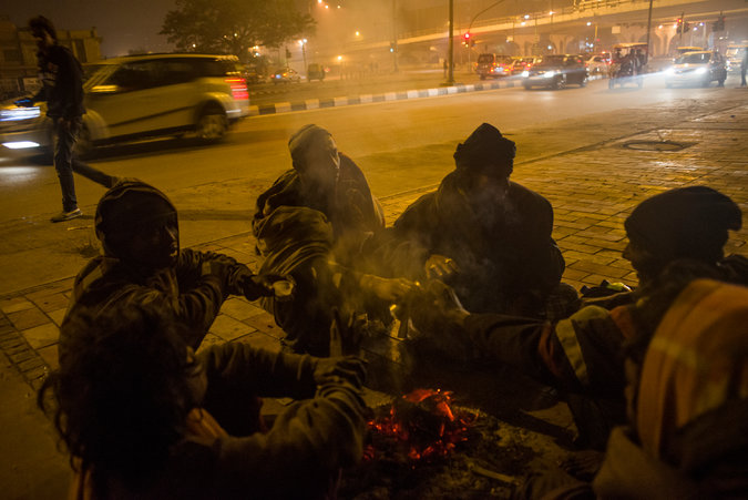India and China, Besieged by Air Pollution