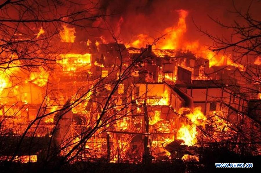 Ancient Town in Yunnan Catches Fire (Updated)