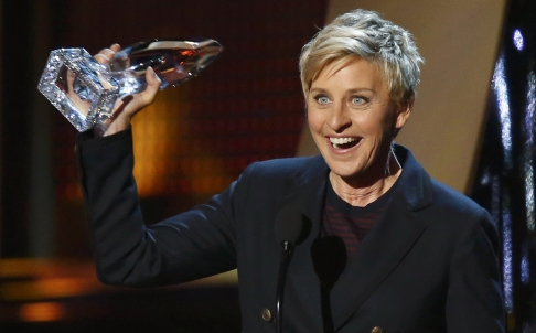 Ellen DeGeneres Debuts in China