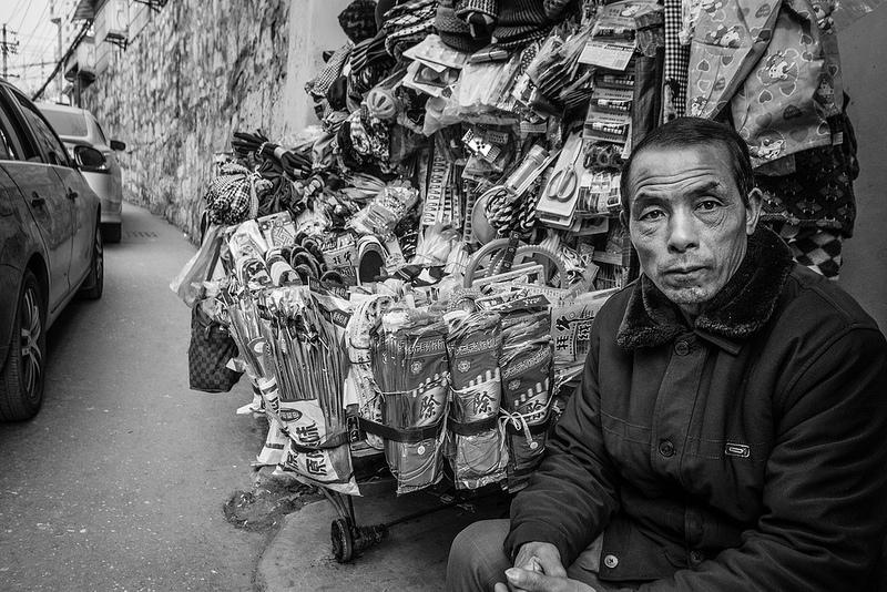 Friendly Street Vendor