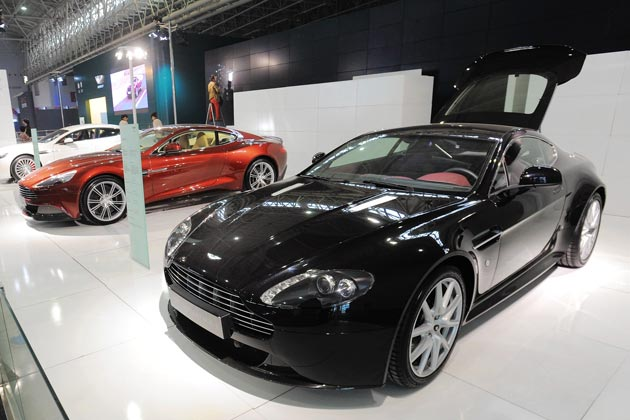 Aston Martin Car Has Chinese Supply-Chain Problems