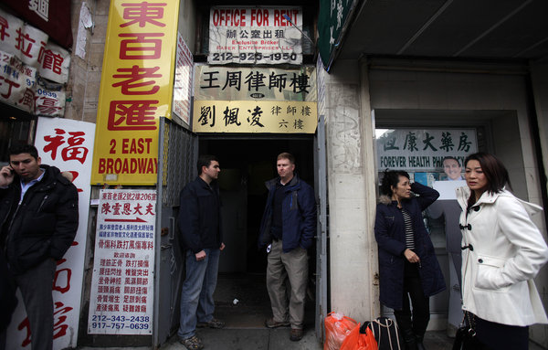 Officials Target Asylum Fraud in NY's Chinatown