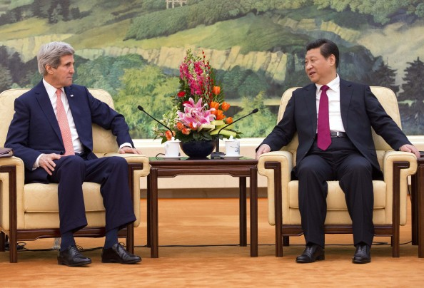 John Kerry Discusses North Korea, Internet Freedom in China