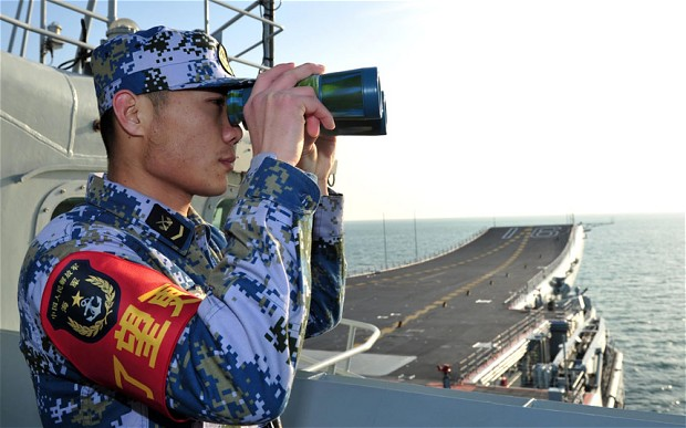 China Training for 'Short, Sharp War' Against Japan?