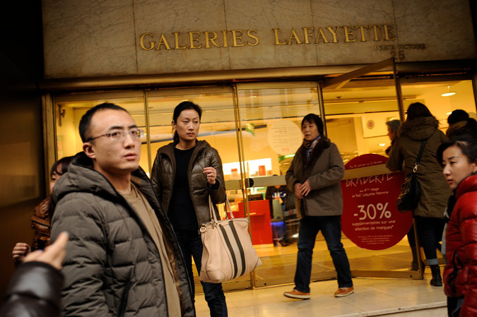 Catering to the Chinese Shopper's Grand Tour