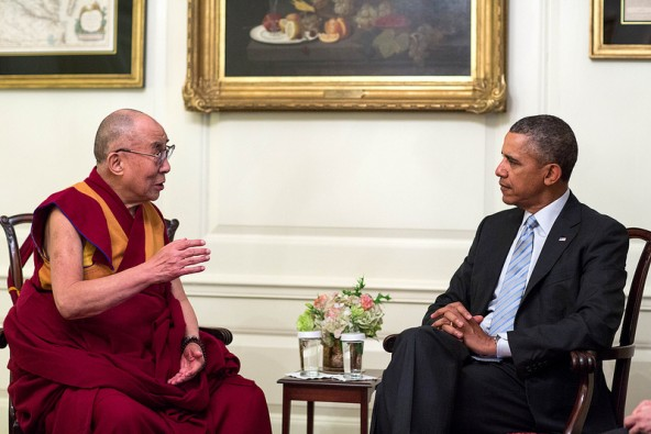 Little Fallout Expected from Dalai Lama-Obama Meeting