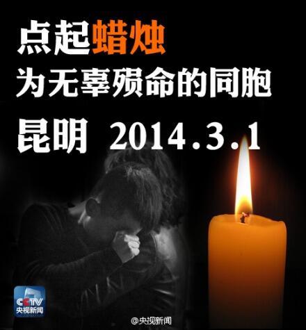 Sensitive Words: Attack in Kunming