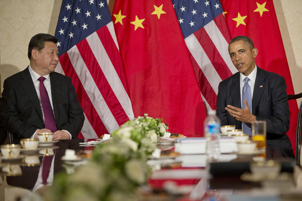 Xi and Obama Meet on Sidelines of Security Summit