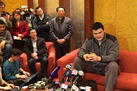 Yao Ming Worries About Obesity in China