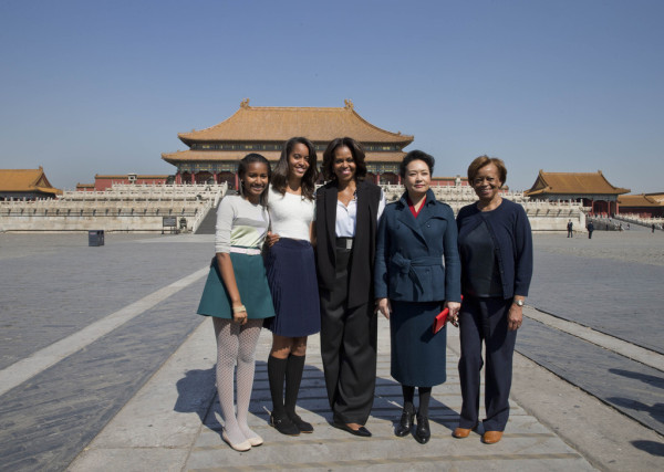 In Beijing, Michelle Obama Lauds Universal Rights