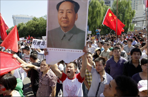 """Chinese """"Nationalism"""" And The Desire For War"""