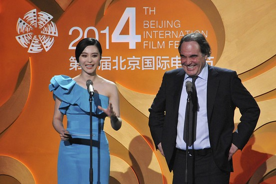 Oliver Stone Dishes Out Criticism In Asia