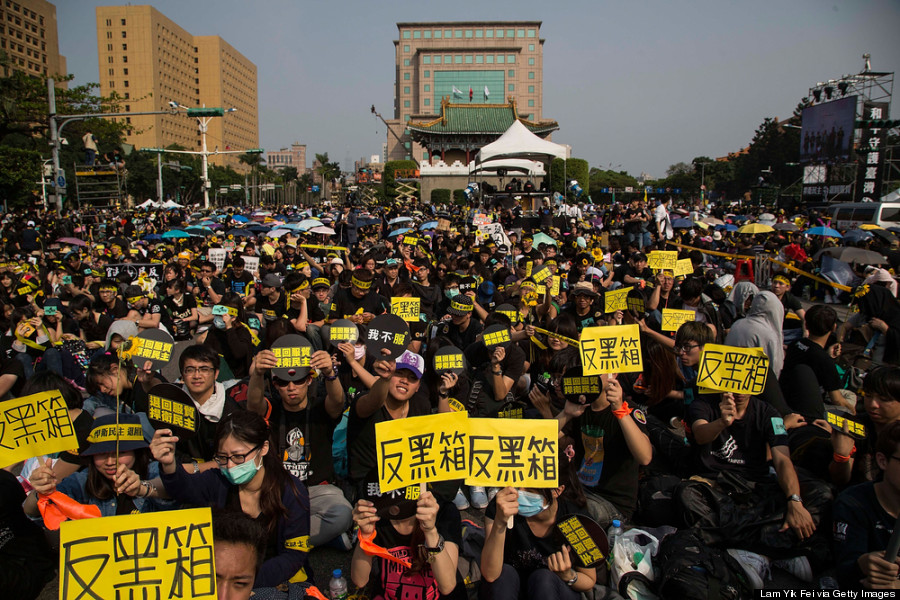 Young Protesters Shake Up Taiwan's China Policy