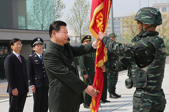 Xi Jinping Visits Xinjiang, 'Frontline of Terror'