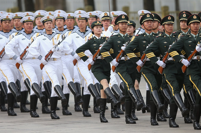 Xi Pushes Army Reform Amid Fresh Sparks With Japan