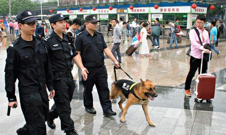 China Ramps Up Security Amid Terror Scare