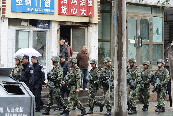 Five Suicide Bombers Accused of Xinjiang Attack