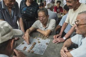 Temple games, Foshan, Guangdong