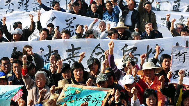 Nine Imprisoned for up to Ten Years Over Wukan Protests