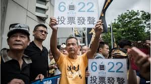 Big Voter Turnout in Unofficial Hong Kong Poll