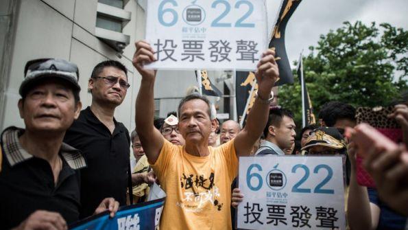 Beijing's Pressure Tactics in Hong Kong