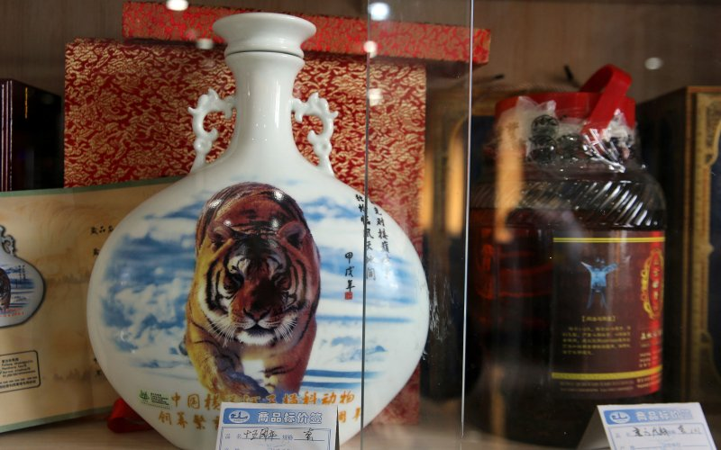 China is Brewing Wine From Tiger Bones