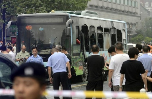 Minitrue: Official Reports Only on Hangzhou Bus Fire