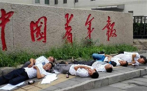 Twelve Petitioners Attempt Suicide in Beijing